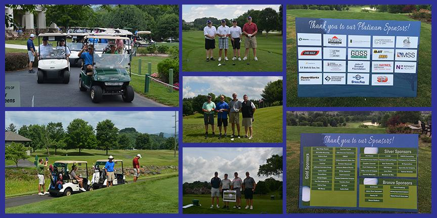 Jeremy Elliot Golf Tourn COLLAGE from Vannoy
