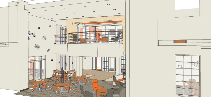 Lighting design in student housing