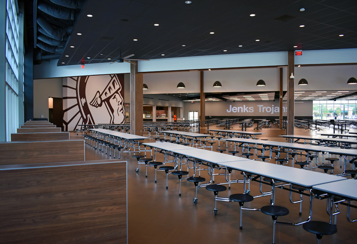 The project for House dining hall design
