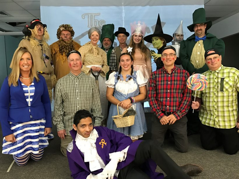 "Once again, the Charlotte office went over the top with a group production of ""The Prince of Oz."" What an effort!"
